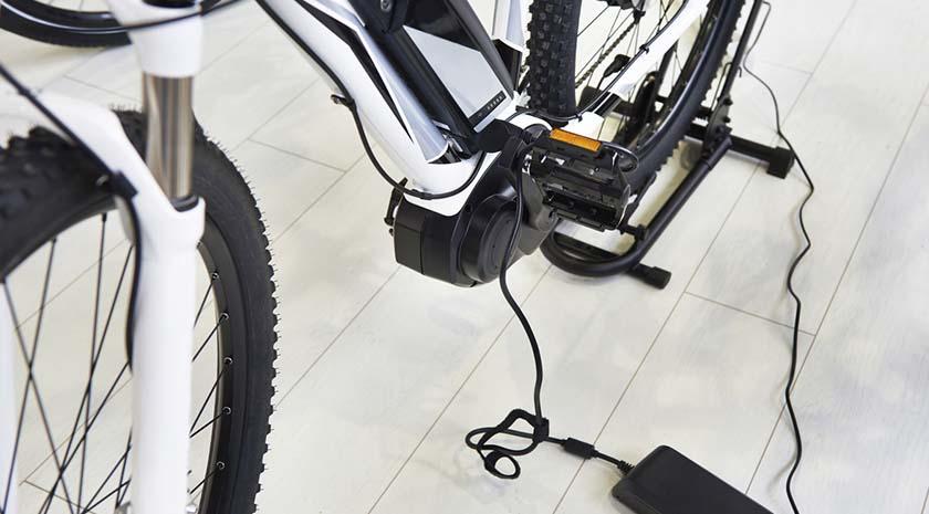 bici electrica-interior