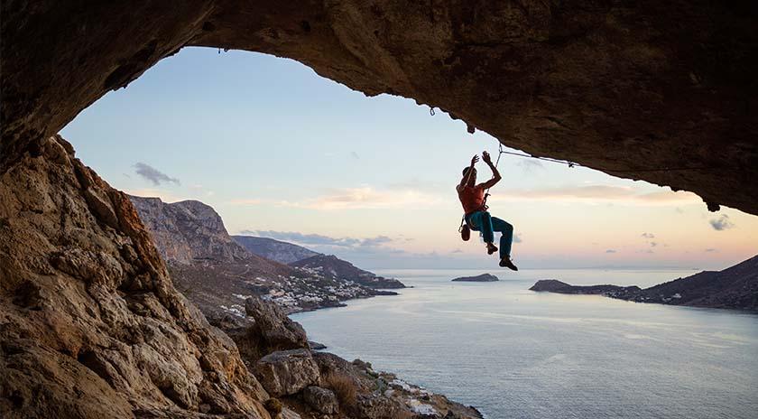 deportes extremos escalada