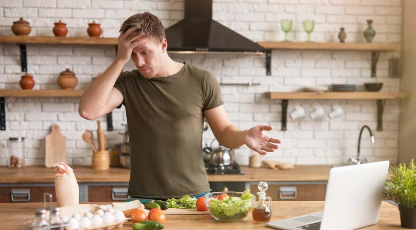 hábitos de vida saludable comida