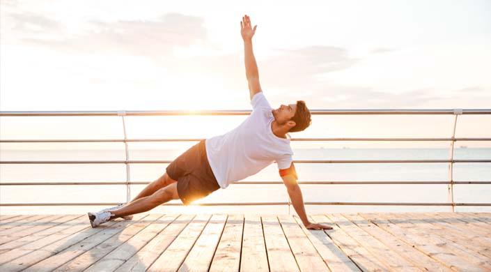 Yoga para hombres ejercicios